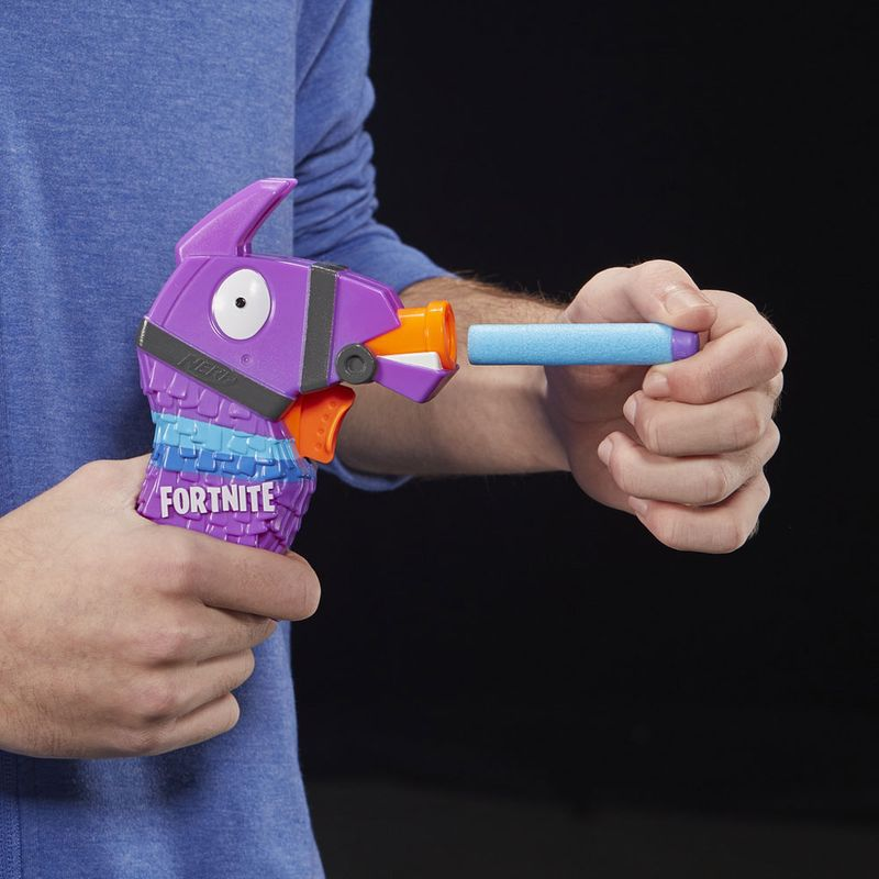 Lançador Nerf Fortnite Lhama Micro Shots Micro Llama  E6747 - Hasbro