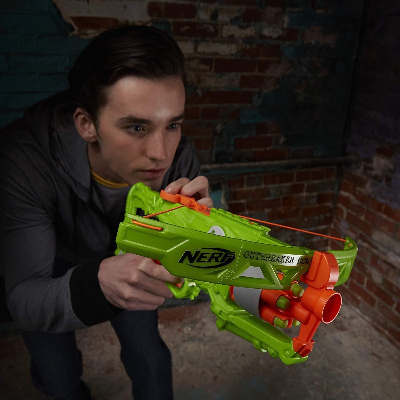 Lançador Nerf Outbreaker Bow Zombie Strike B9094 - Hasbro