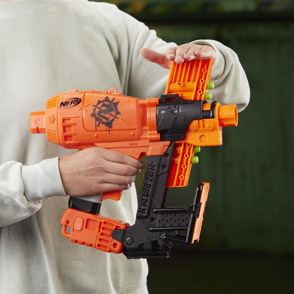Lançador Nerf Zombie Strike Survival Nailbitter E2672 - Hasbro
