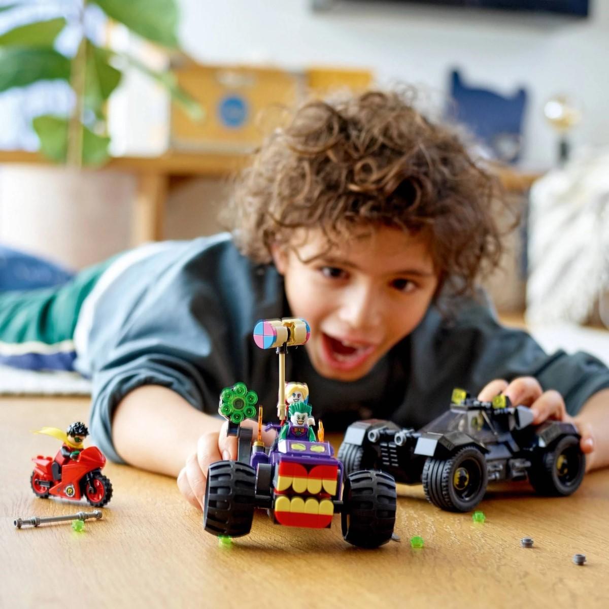 Lego Batman - Perseguição do Triciclo do Joker - Lego 76159
