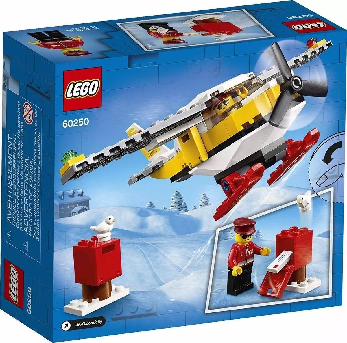 LEGO City - Aviao Correio - Lego 60250