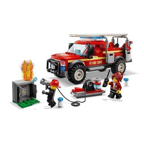 LEGO City - Caminhão do Chefe dos Bombeiros - Lego 60231