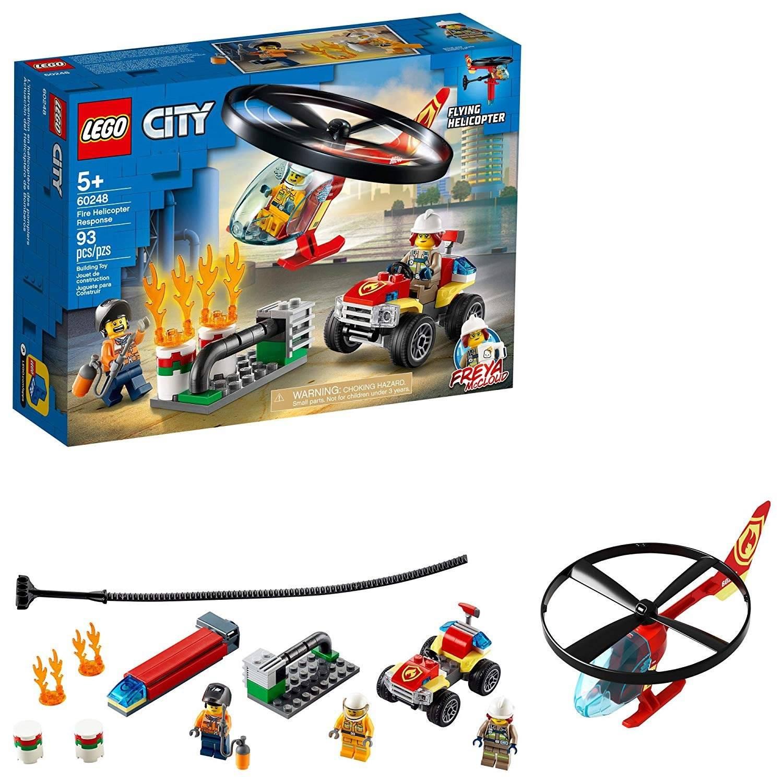 LEGO City - Combate ao fogo com Helicoptero - Lego 60248