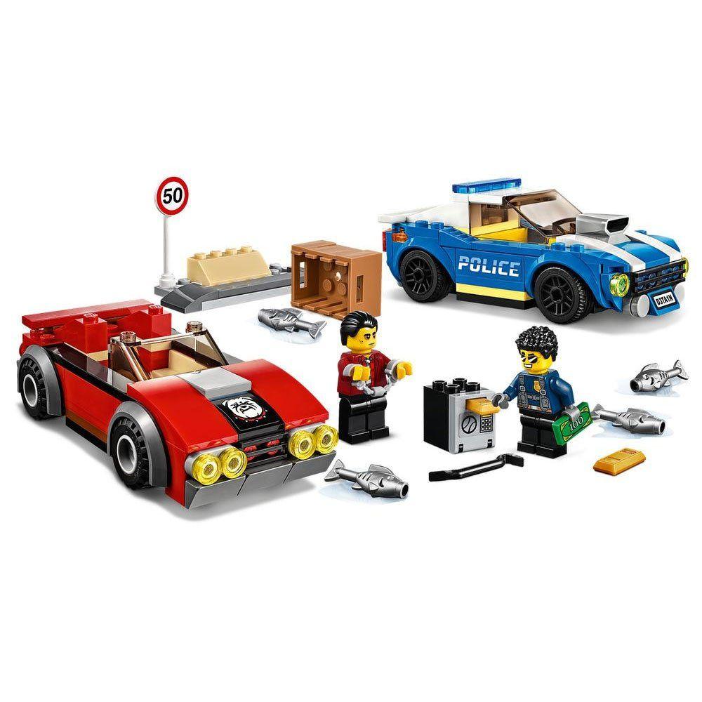 LEGO City - Detenção Policial na Autoestrada - Lego 60242
