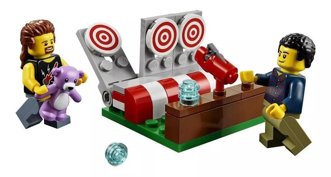 LEGO City - Parque de Diversões com Pack de Pessoas - Lego 60234