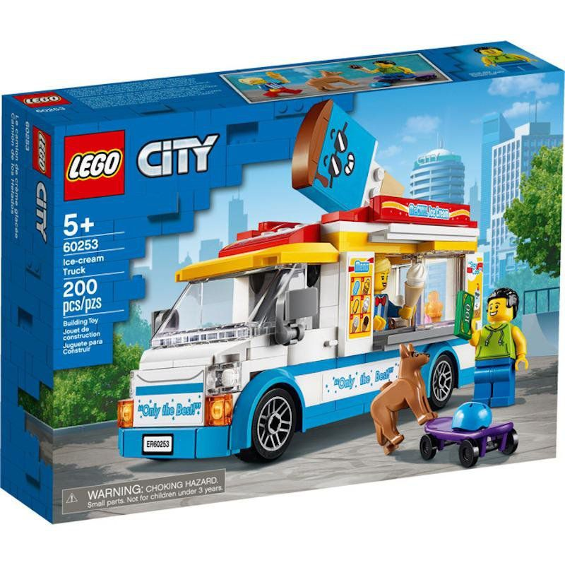 LEGO City - Van de Sorvetes - Lego 60253
