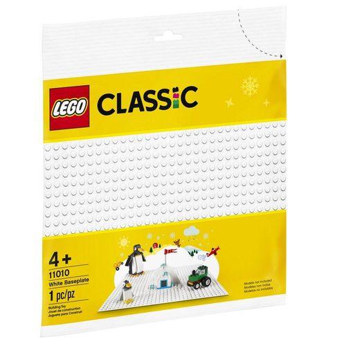 LEGO Classic - Base Branca de Construção Criativa - Lego 11010