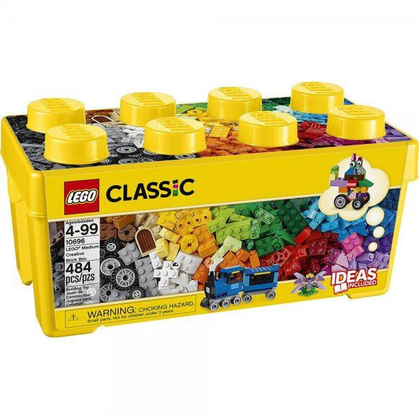 LEGO Classic - Caixa Media Com 484 Peças Criativas - Lego 10696