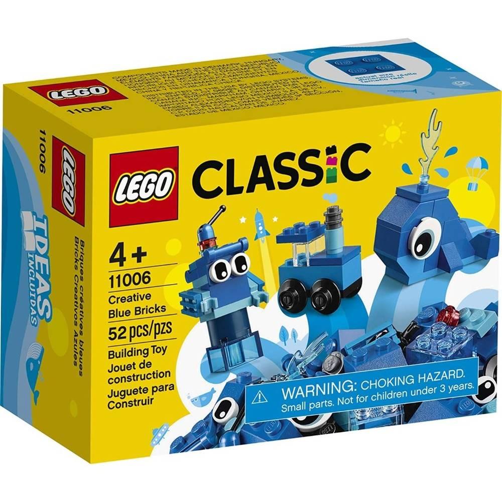 LEGO Classic - Com 52 Peças Azuis Criativas - Lego 11006