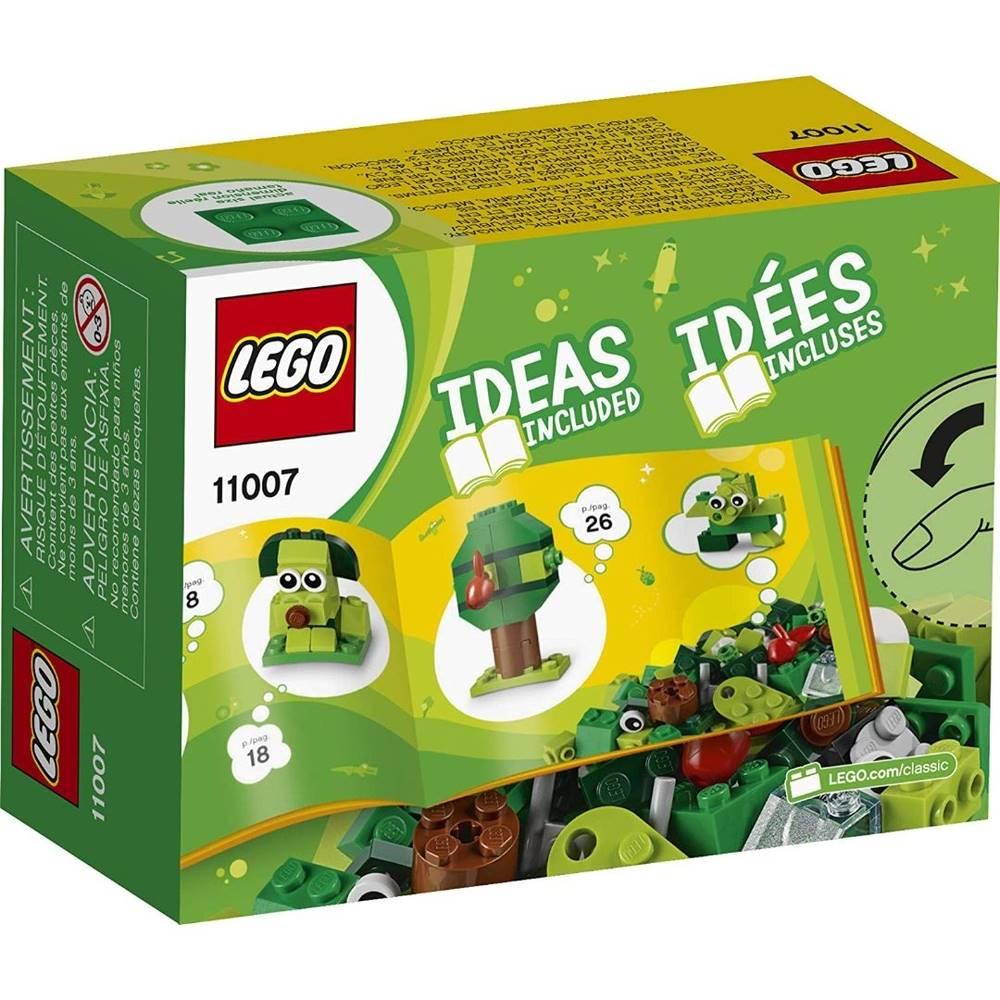 LEGO Classic - Com 60 Peças Verdes Criativas - Lego 11007
