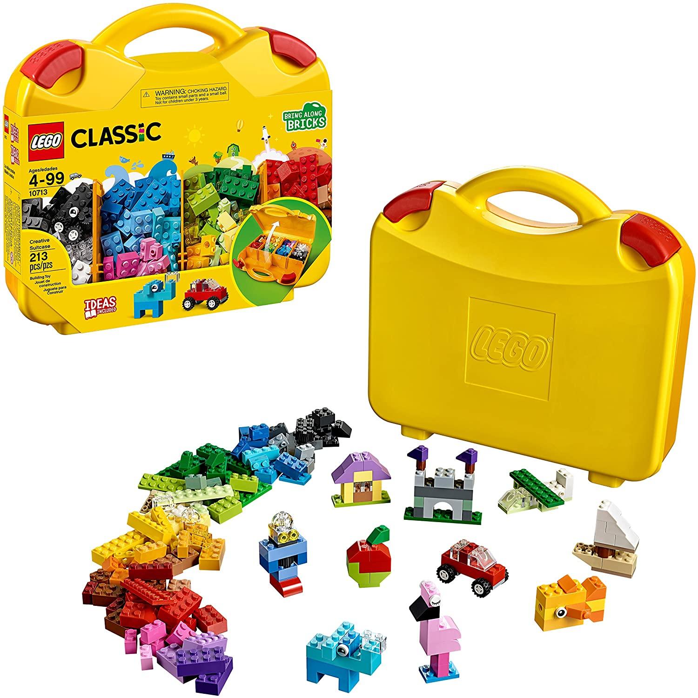 LEGO Classic - Maleta de Criatividades com 213 Peças - Lego 10713