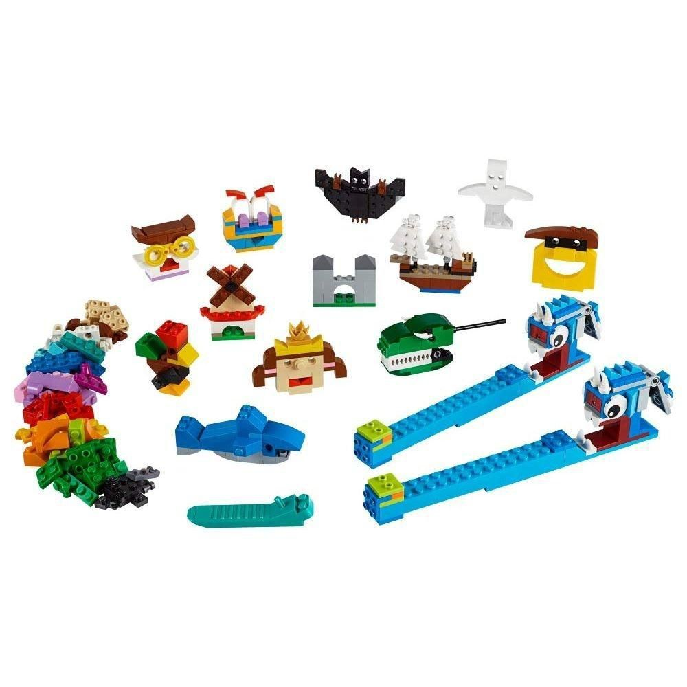 LEGO Classic - Peças e Luzes Com 441 Peças Criativas - Lego 11009