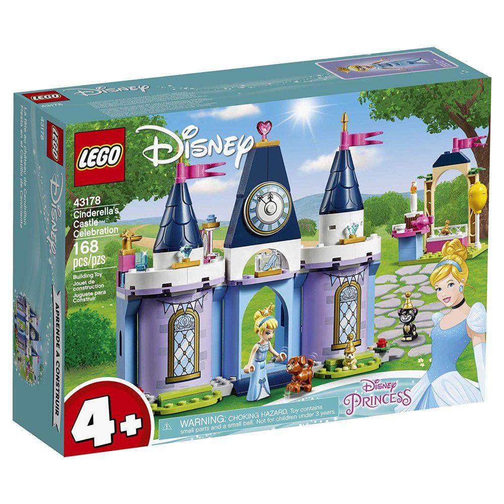 LEGO Disney - A Celebração no Castelo da Cinderela - Lego 43178
