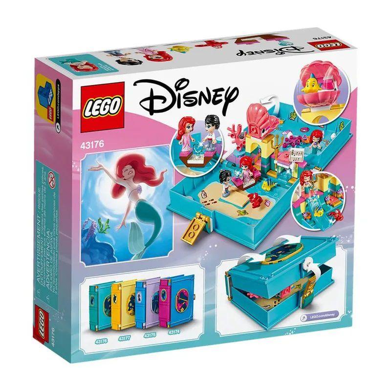 LEGO Disney - Aventuras do Livro de Contos da Ariel - Lego 43176