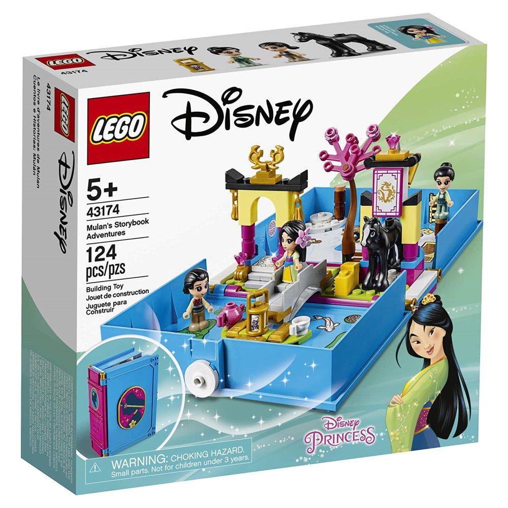 LEGO Disney - Aventuras do Livro de Contos da Mulan - Lego 43174