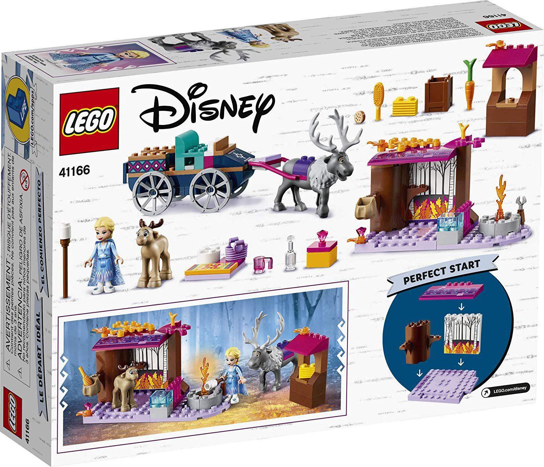 LEGO Disney - Frozen 2 A Aventura em Caravana da Elsa  - Lego 41166