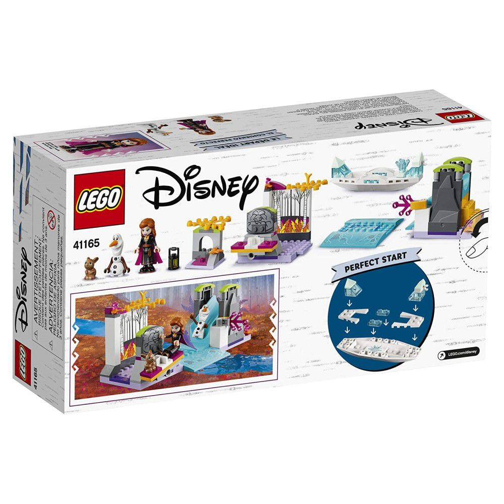 LEGO Disney - Frozen 2 A Expedição de Canoa da Anna - Lego 41165