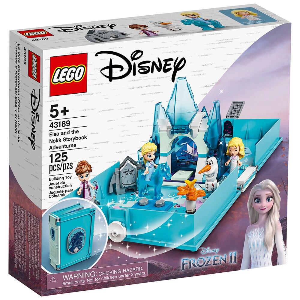 LEGO Disney - Frozen Aventuras do Livro de Contos da Elsa e Nokk- Lego 43189