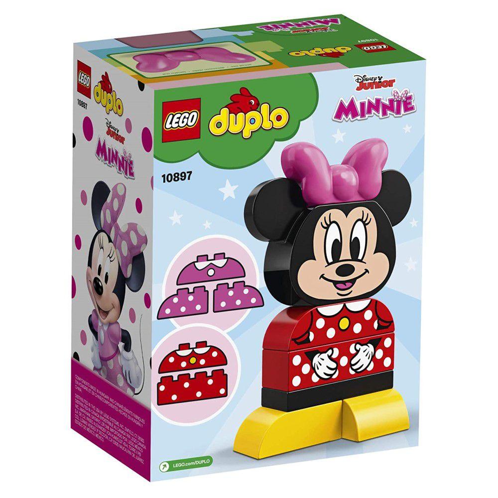 LEGO Duplo - O Meu Primeiro Modelo da Minnie - Lego 10897