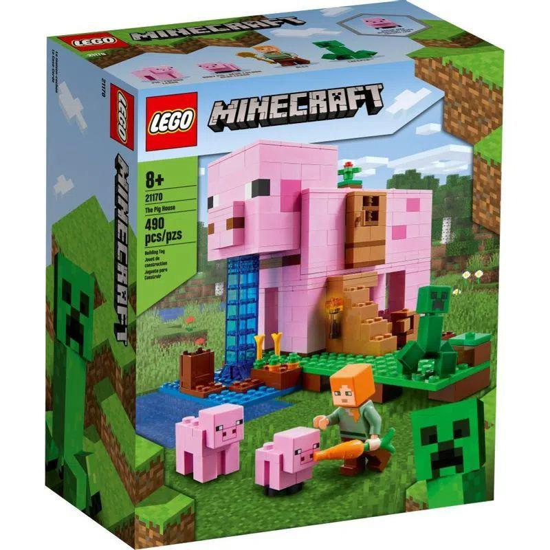LEGO Minecraft - A Casa do Porco - Lego 21170