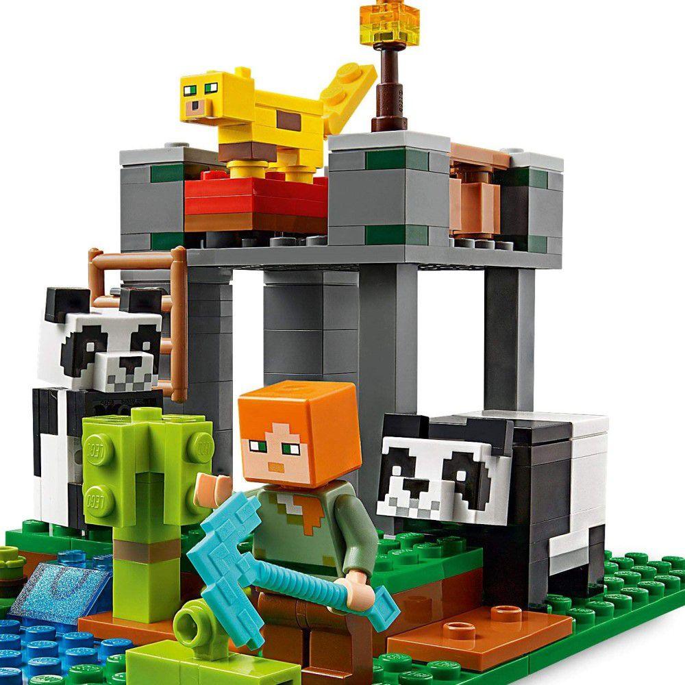 LEGO Minecraft - A Creche dos Pandas - Lego 21158