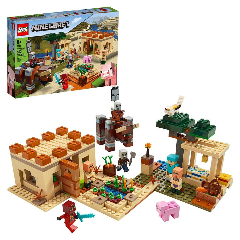 LEGO Minecraft - O Ataque de Illager - Lego 21160
