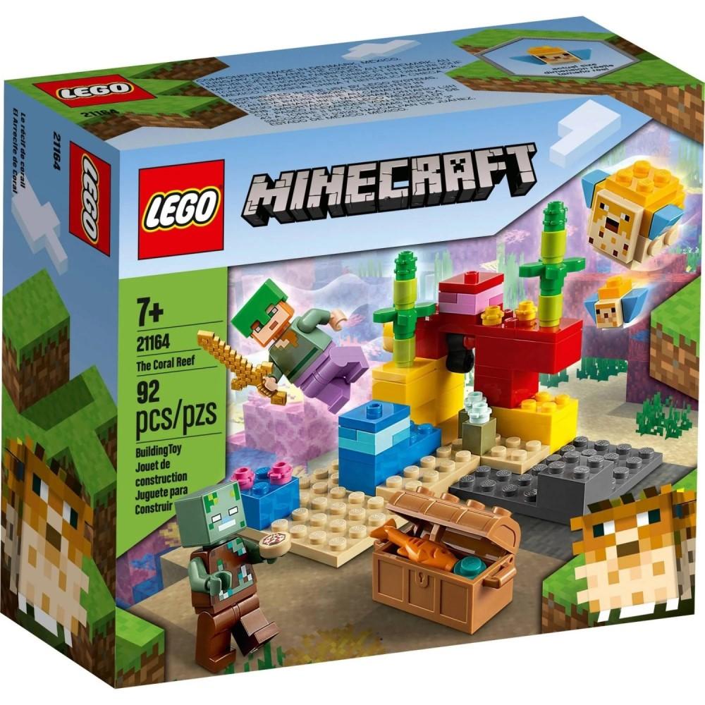 LEGO Minecraft - O Recife de Coral - Lego 21164