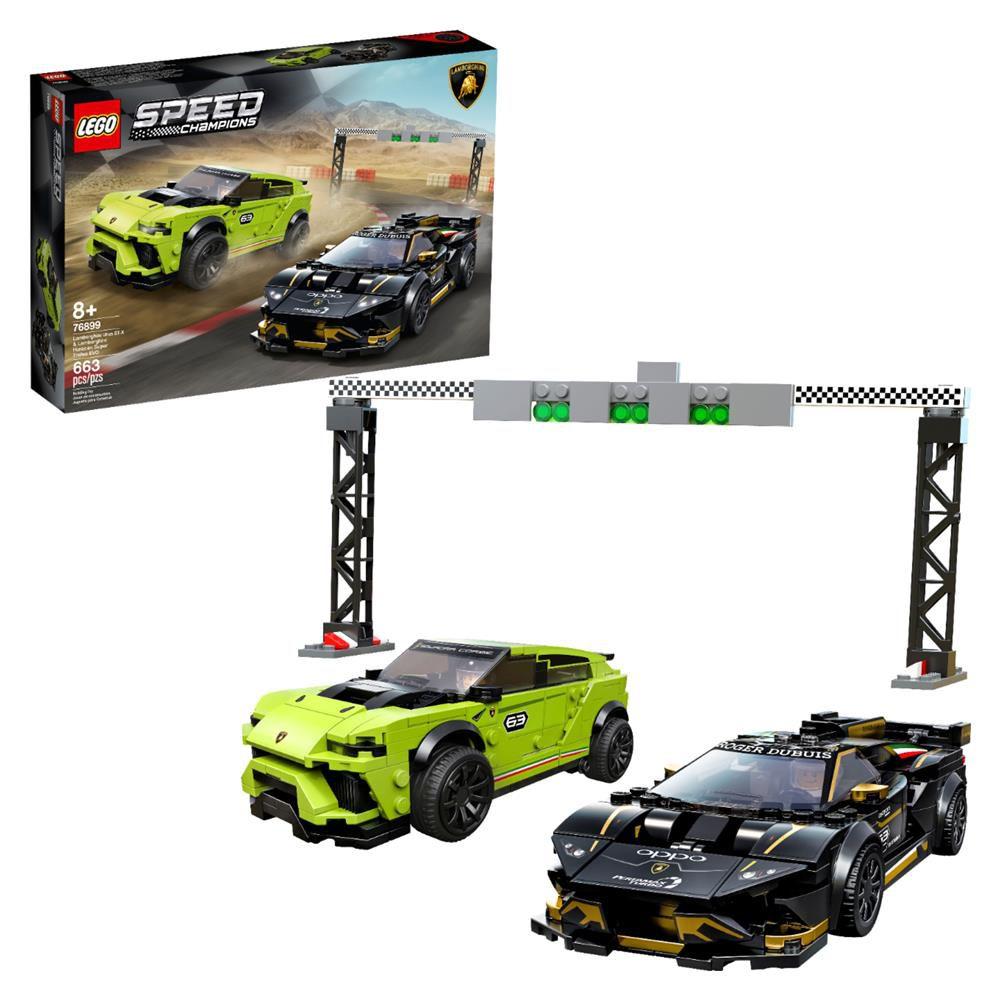 LEGO Speed Champions - Lamborghini Urus ST-X e Huracan Super Trofeo EVO - Lego 76899