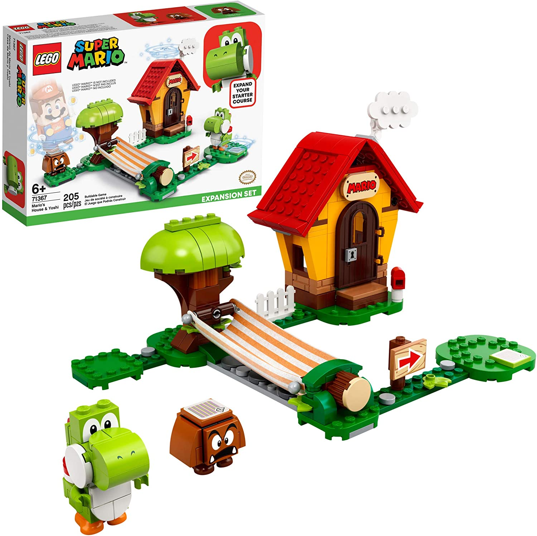LEGO Super Mario - A Casa do Mario e do Yoshi - Lego 71367