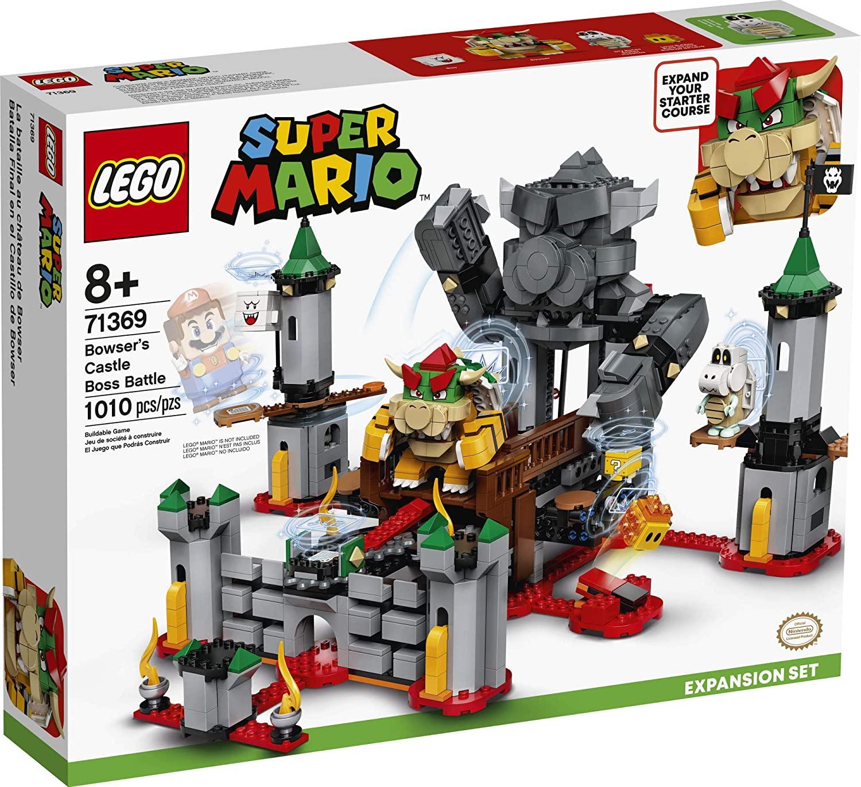 LEGO Super Mario - Batalha no Castelo do Bowser - Lego 71369