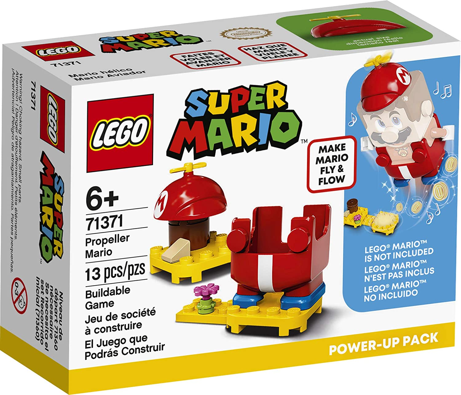 LEGO Super Mario - Traje Mario de Helice Power UP - Lego 71371