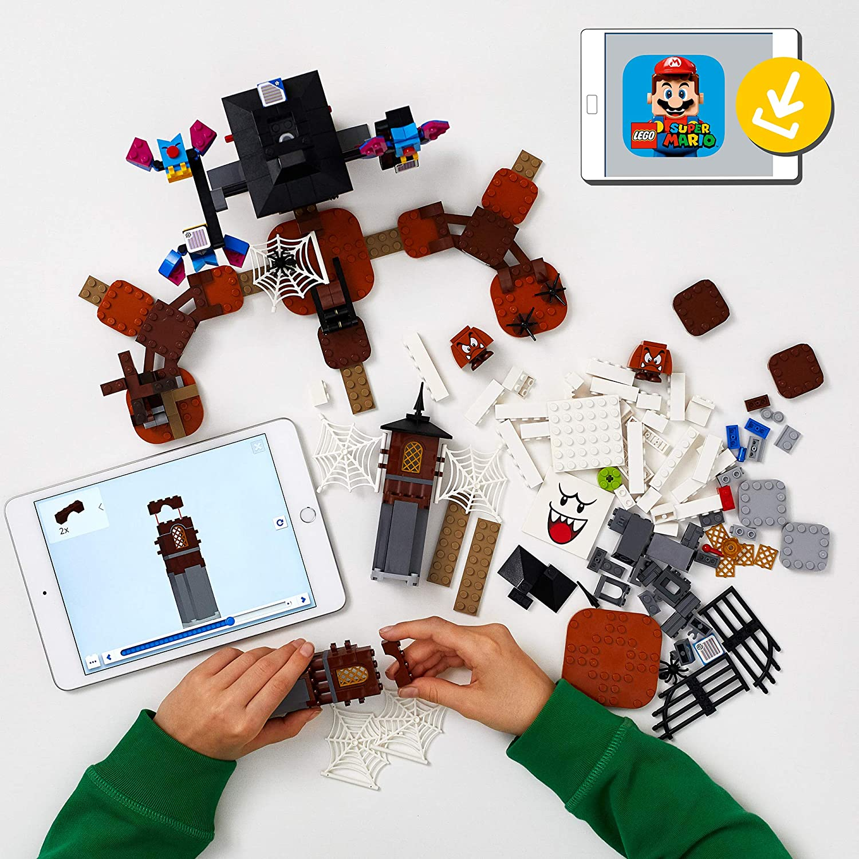 LEGO Super Mario - Rei Bu e o Patio Mal Assombrado - Lego 71377