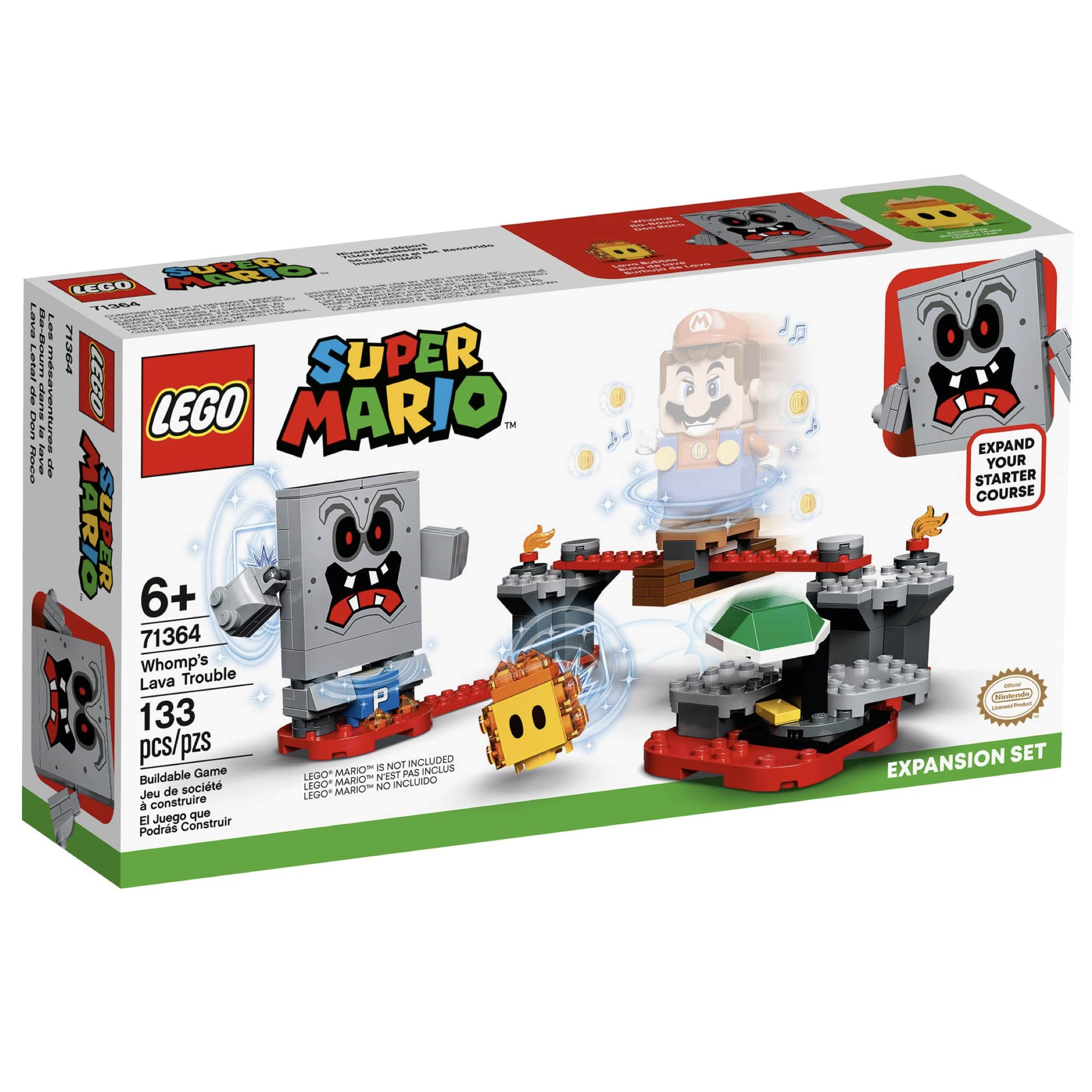 LEGO Super Mario - Revés das Lavas do Esmagão - Lego 71364