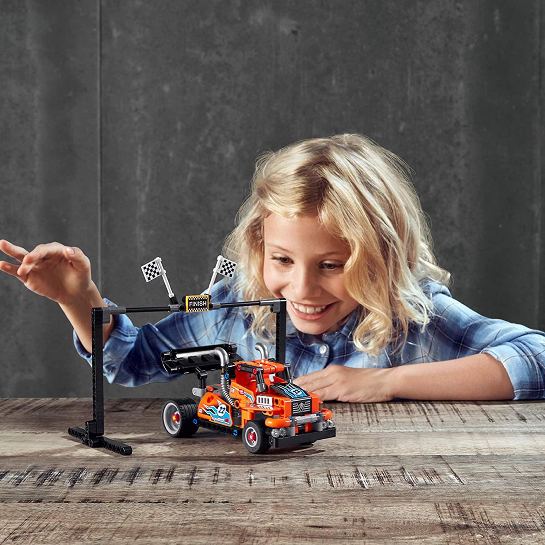 Lego Technic - Caminhão de Corrida 2 em 1 - Lego 42104