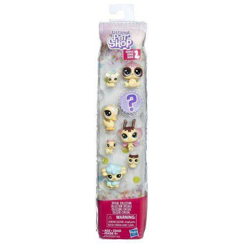 Littlest Pet Shop No Tubo Amigos Docinhos com 8 Personagens E1059 - Hasbro E0397