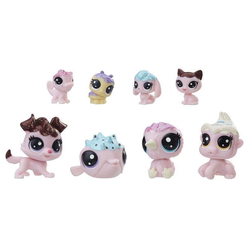 Littlest Pet Shop No Tubo Amigos Docinhos com 8 Personagens E1063 - Hasbro E0397