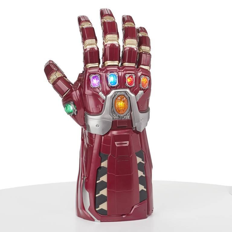 Marvel Legends Series Avengers Manopla Eletrônica Iron Man E6253 - Hasbro - Manopla do Homem de Ferro Articulada