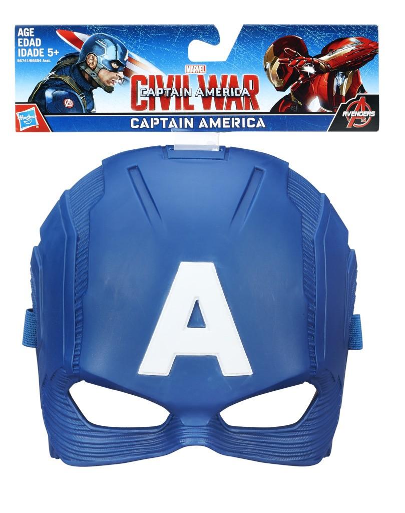 Mascara Capitao America Sortida B6654 - Hasbro
