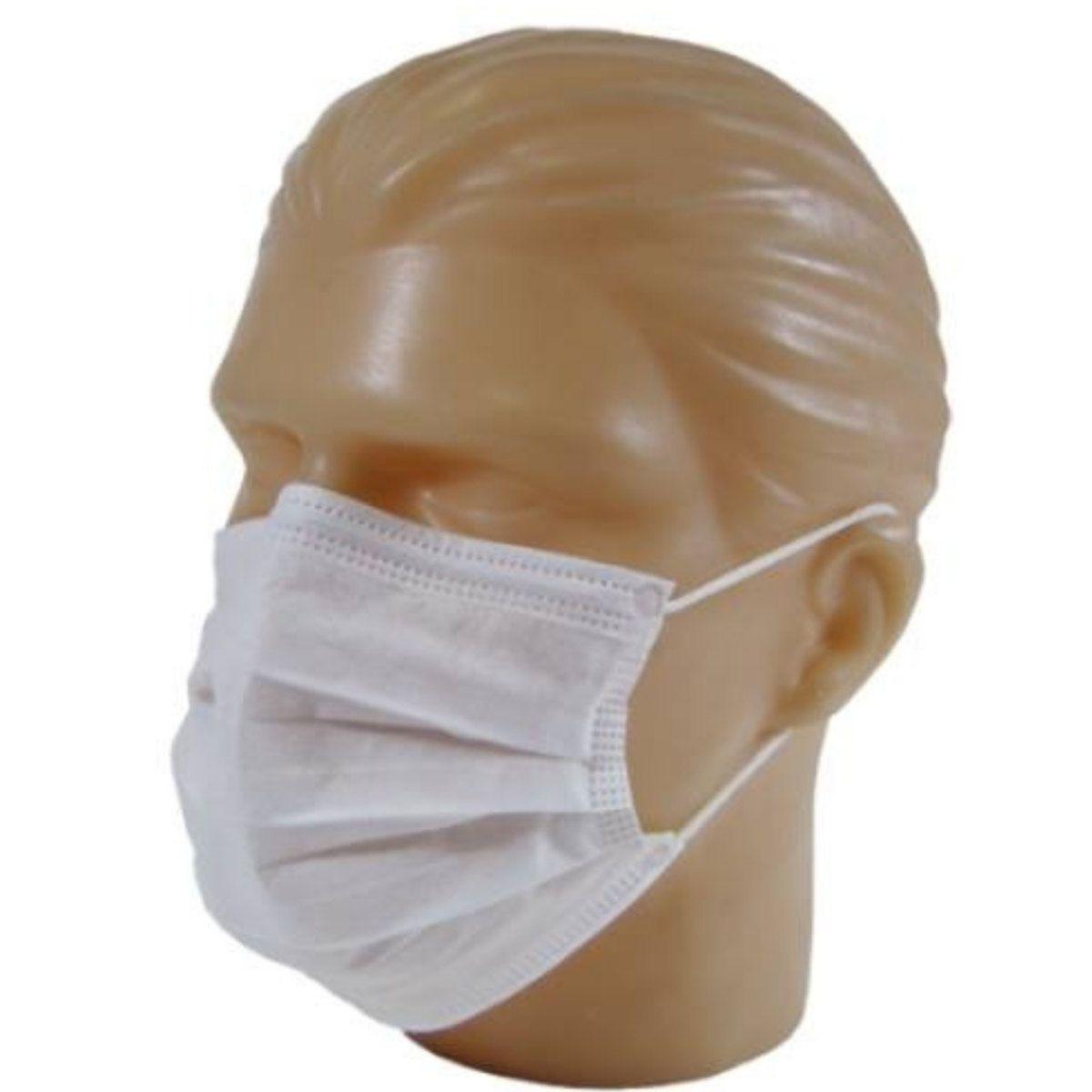 Mascara Descartável Dupla Proteção Caixa com 100 unidades - Care+