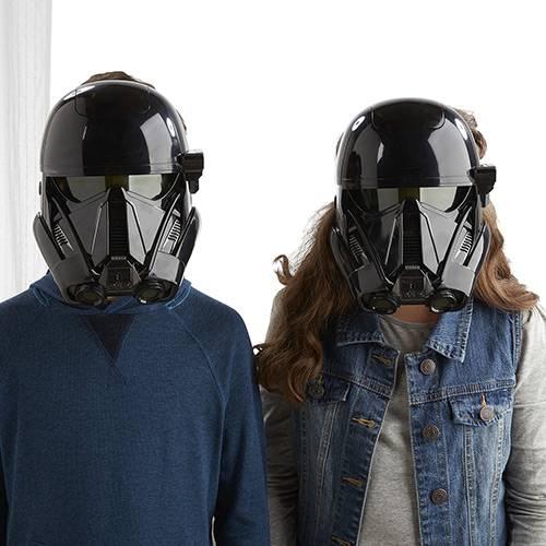 Máscara Eletrônica Star Wars - Rogue One - Death Trooper - Hasbro