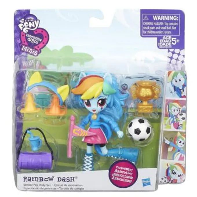 Mini Boneca My Little Pony Rainbow Dash- Hasbro