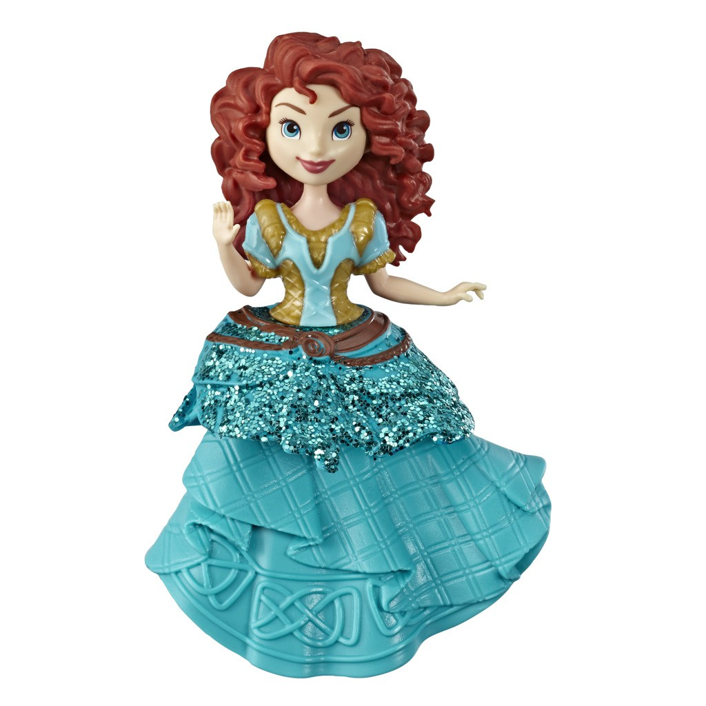 Mini Boneca Princesa Disney Royal Clips Merida E4865 E3049 - Hasbro