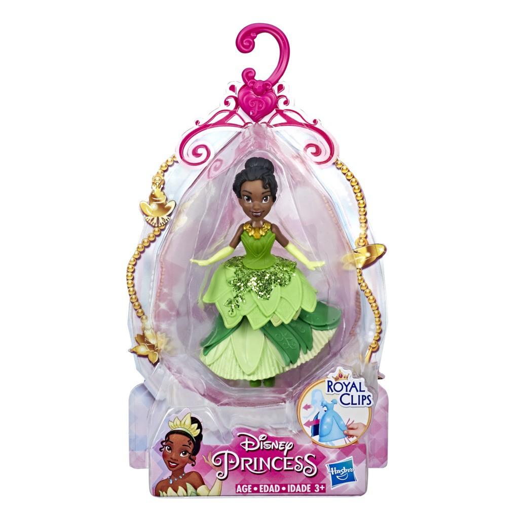 Mini Boneca Princesa Disney Royal Clips Tiana E4862 E3049 - Hasbro