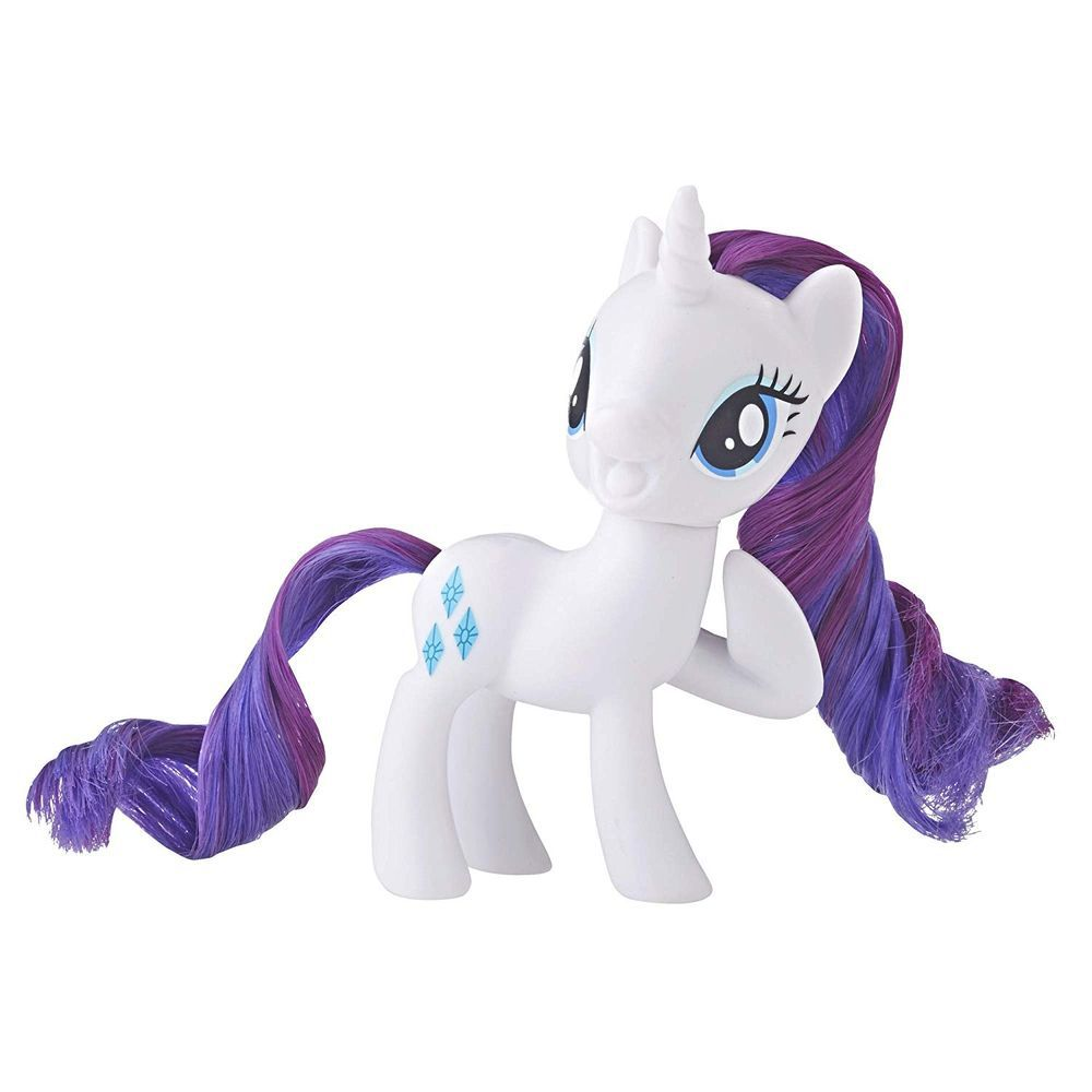 Mini Boneca My Little Pony Rarity E5009  E4966 - Hasbro