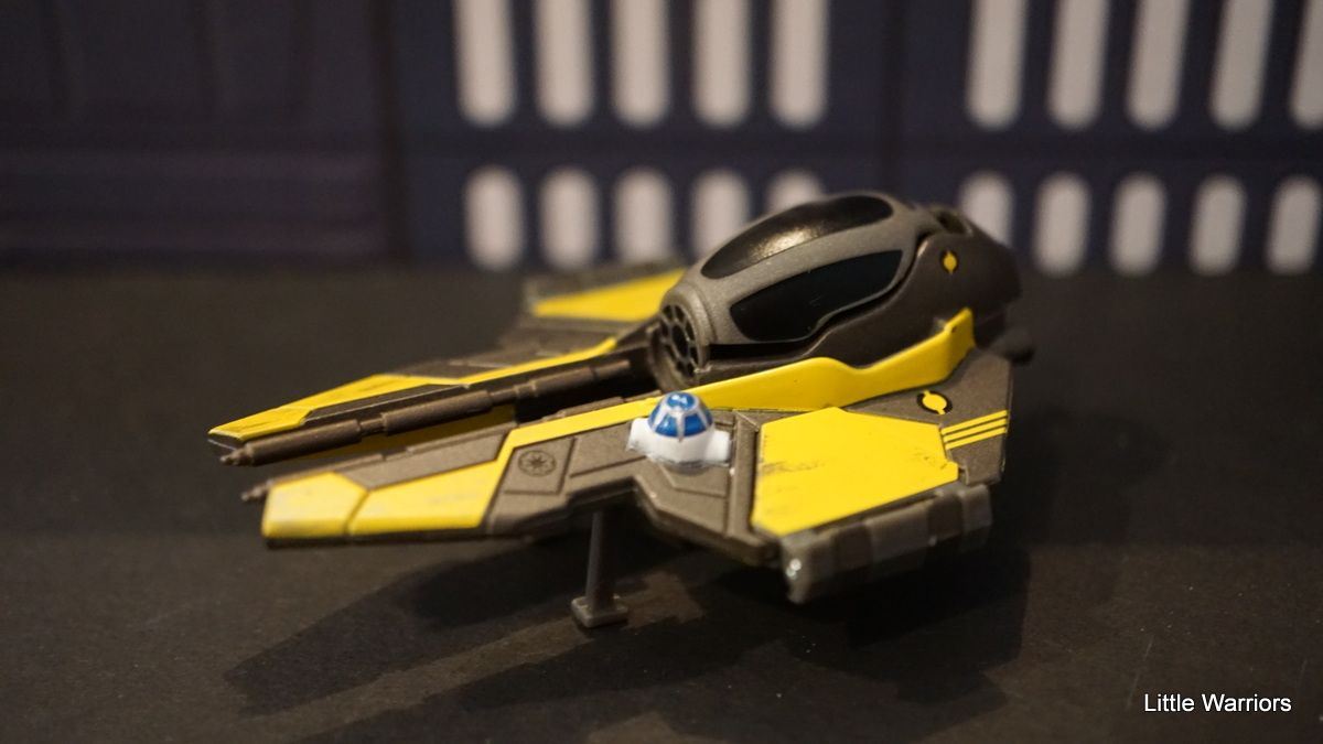 Mini Veículo Star Wars Jedi Starfighter de Anakin Skywalker - Hasbro