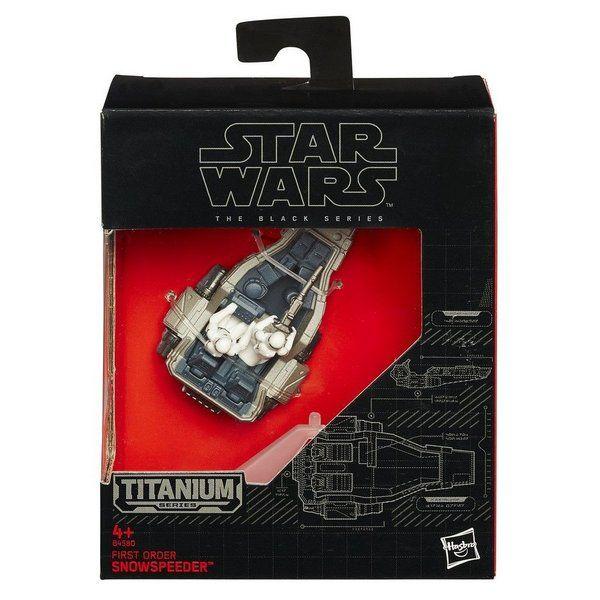 Mini Veículo Star Wars First Order Snowspeeder - Hasbro