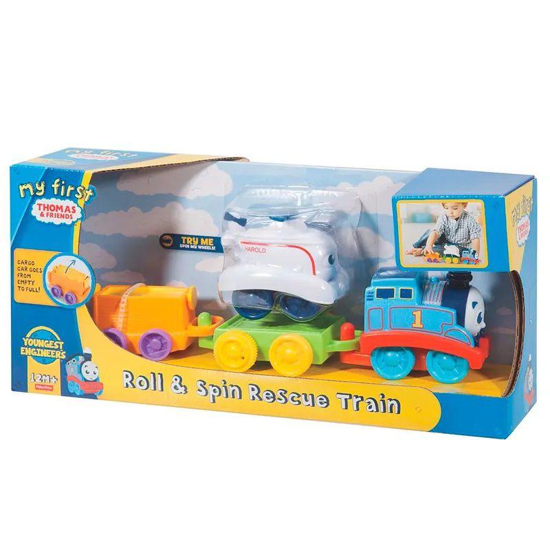 Mini Veículo Thomas & Friends Meu Primeiro Vagão de Resgate - Fisher Price