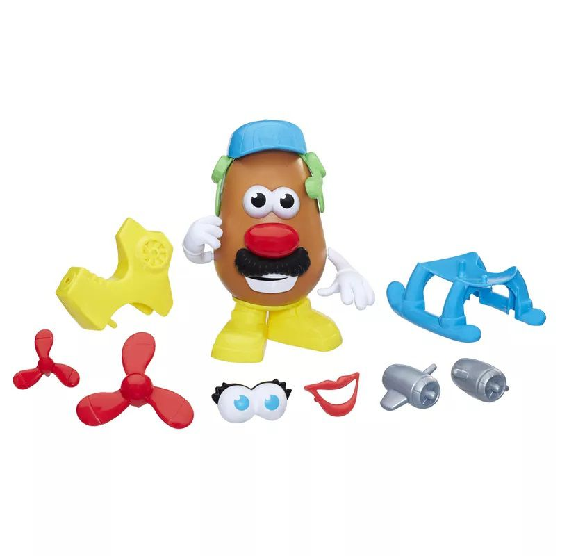 Mr. Potato Head Nas Alturas Helicóptero Divertido E2042 - Hasbro