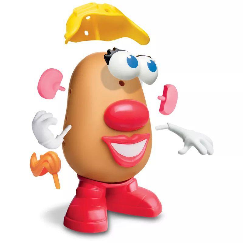 Mr. Potato Head Nas Alturas Mrs. Potato Avião E2041 - Hasbro