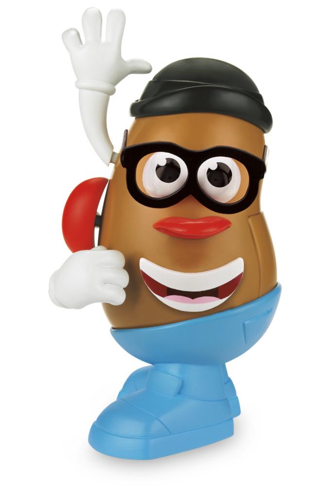 MR Potato Head Pack Sr e Sra Cabeça de Batata 27656 - Hasbro